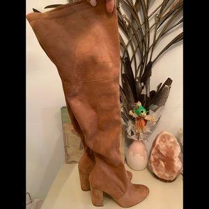 ALDO tan knee high boots 👢 size 7